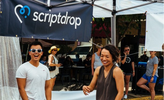 Some of the ScriptDrop team